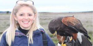Crónica de uma Falcoeira - Silvia Leite, Imagem destaque