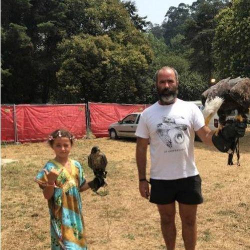 Uma pequenina falcoeira 3 - Entrevista dia da criança
