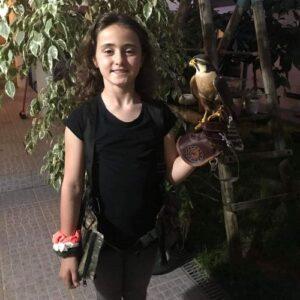 Uma pequenina falcoeira - Entrevista dia da criança 2