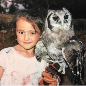 Uma pequenina falcoeira - Entrevista dia da criança 1