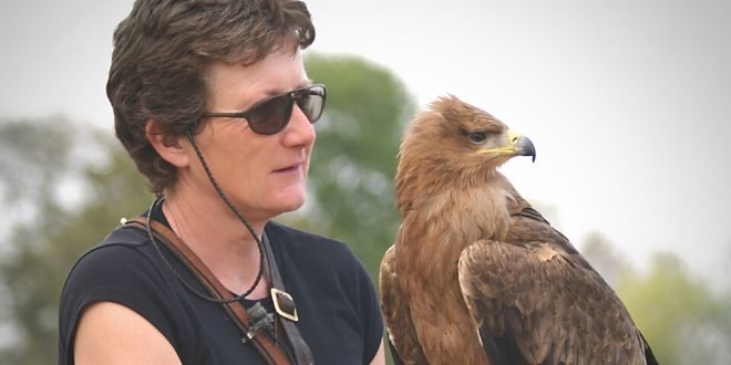 Falcoaria aliada a Conservação - Entrevista Jemina Parry Jones